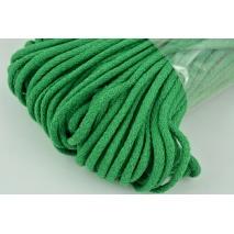 Sznurek bawełniany 6mm ciemna zieleń (miękki)