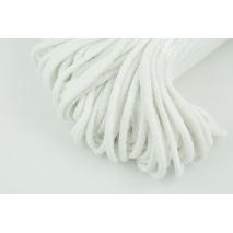 Sznurek bawełniany 6mm biały (miękki)