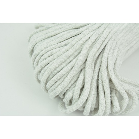 Cotton Cord 6mm pigeon gray (soft)
