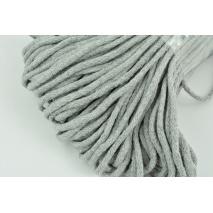 Cotton Cord 6mm light gray (soft)