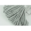 Cotton Cord 6mm light gray (soft)