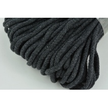 Cotton Cord 6mm graphite (soft)