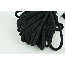 Cotton Cord 6mm black (soft)