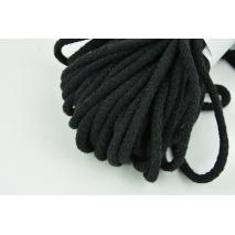 Sznurek bawełniany 6mm czarny (miękki)