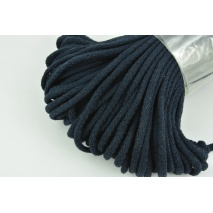 Cotton Cord 6mm dark navy (soft)