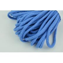 Sznurek bawełniany 6mm ciemny niebieski (miękki)