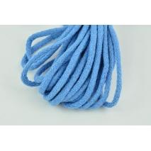 Sznurek bawełniany 6mm niebieski (miękki)