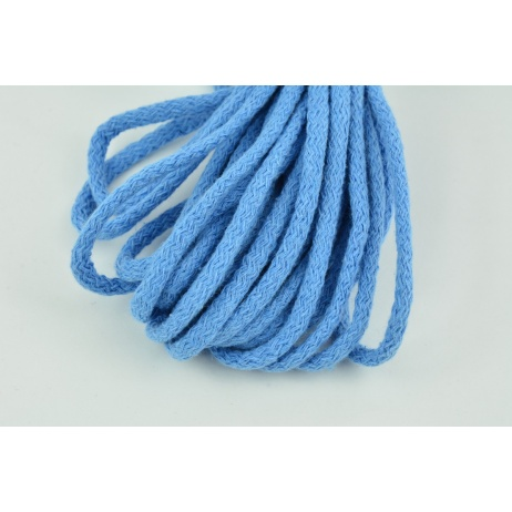 Cotton Cord 6mm blue (soft)