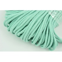 Cotton Cord 6mm mint, (soft)