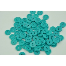 "Shirt button 18"" turquoise"