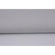 Cotton 100% small gray stripes