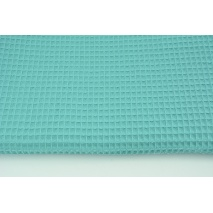 Cotton 100% waffle sea turquoise CZ 160 cm