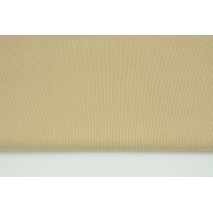 Knitwear, cuff fabric with elastane, plain beige