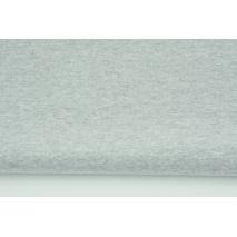 Knitwear, cuff fabric with elastane, plain gray (melange)