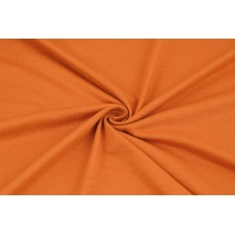 Knitwear, viscose with elastane, carrot orange