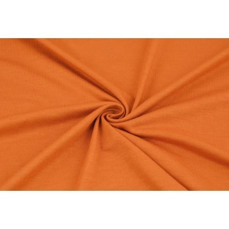 Knitwear, viscose with elastane, carrot orange