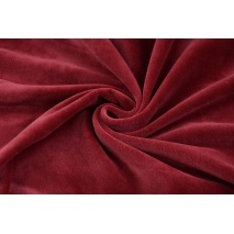 Knitwear 100% cotton velour, creamy