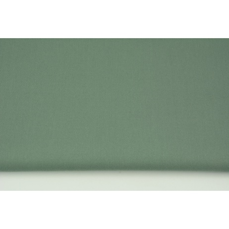 Clothing cotton fabric with elastane, sage color