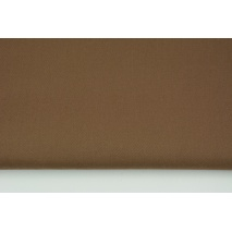 Clothing cotton fabric with elastane, light brown 210g/m2