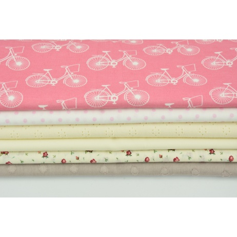 Fabric bundles No. 587 KO 40x140cm