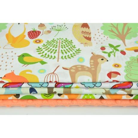 Fabric bundles No. 595 KO 20x160 cm
