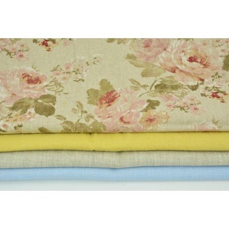 Fabric bundles No. 596 KO 30x140cm
