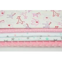 Fabric bundles No. 600 KO 40x140cm