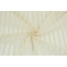 Soft tulle striped, beige