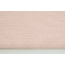 Cotton 100% waffle candy pink Q