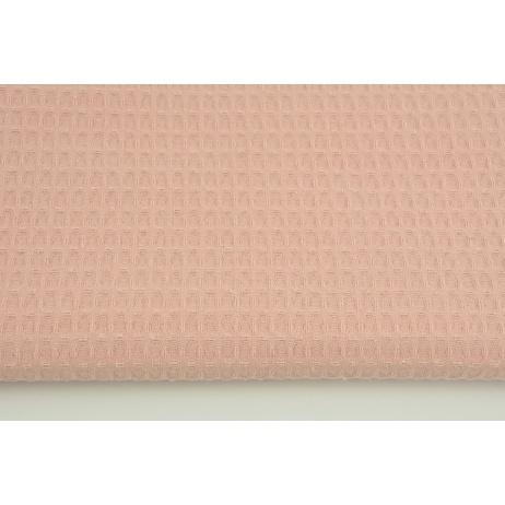Cotton 100% waffle salmon Q