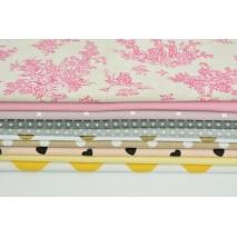 Fabric bundles No. 236 AEO 20x150cm