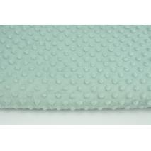 Polar z wytłaczanymi bąbelkami minky szaro-miętowy 380g/m2