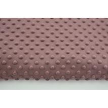 Dimple dot fleece minky in an autumn heather color 380 g/m2