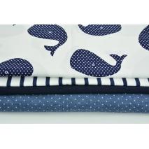 Fabric bundles No. 613 KO 30x140cm