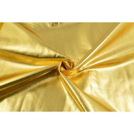 Lama fabric, gold