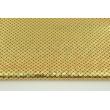Lama fabric, golden scales