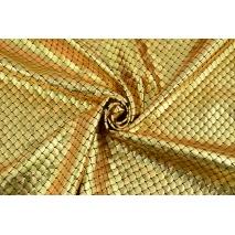 Tkanina typu lama, złote łuski