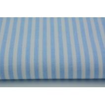 Bawełna 100% niebieskie paski 5mm II jakość