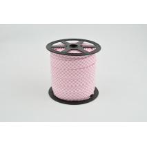 Cotton bias binding pink vichy check pattern NO. 2