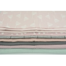 Fabric bundles No. 625 KO 30x130cm