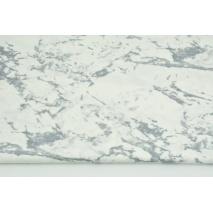 Bawełna 100% biały marmur
