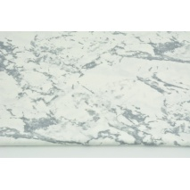 Cotton 100% white marble