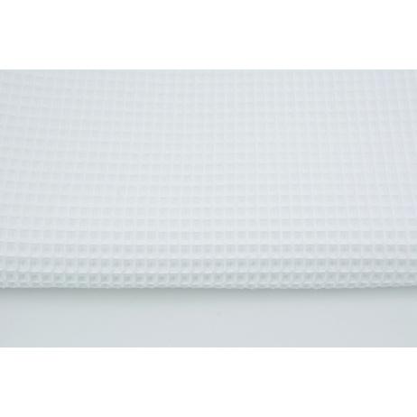 Cotton 100% waffle white CZ 160 cm