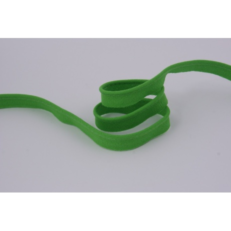Cotton edging ribbon green