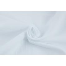 Muślin bawełniany, biały, 150cm, Oeko Tex St. 100 II klasa, Produkt polski II jakość