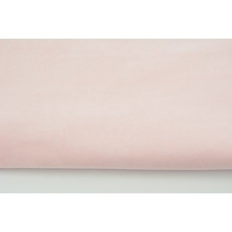 Knitwear velor, light pink