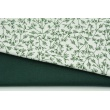 Dzianina bawełniana w rękawie, zieleń jodłowa jednobarwna