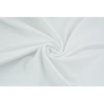 Knitwear with elastane, plain white