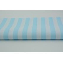 Cotton 100% turquoise stripes 15mm