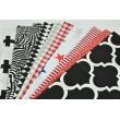 Fabric bundles No. 24 IO 50x140cm